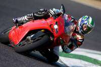 Troy Bayliss con la Ducati 1198S