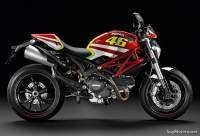 Ducati Monster con kit GP Réplica Rossi