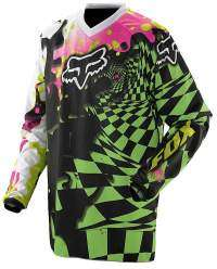 Camiseta motocross infantil Fox Youth Checked Out