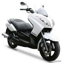 Sumco Master MT125: vista lateral frontal
