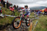 Toni Bou en Fort William Gran Bretaña luchando por la victoria