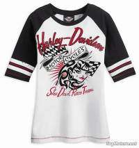 Camiseta She Devil Race Team con manga pirata