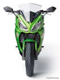 Kawasaki ER-6F 2012 pantalla regulable, faros