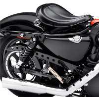 Harley-Davidson XL1200X Forty-Eight customizada: asiento de muelles
