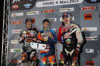 Podio final del SuperEnduro de Tours (Francia) 2013