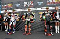 Superpole SBK Assen 2013: Jonathan Rea, Tom Sykes y Eugene Laverty