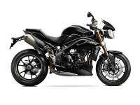 Triumph Speed Triple negra lateral