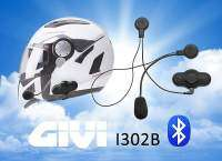Intercomunicador GIVI I302B con Bluetooth