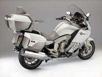 Vista trasera de la BMW K 1600 GTL Exclusive 2014