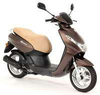 Peugeot scooter Kisbee 50 4T color chocolate