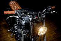 "Triumph Bonneville ""The Lizard King"" del preparador español Macco Motors"