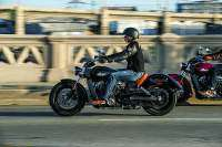 Indian Scout 2015 en marcha