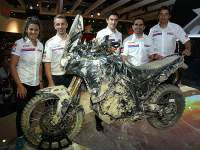 Honda true adventure prototipo.