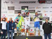 Podio MX125 Talavera 2016.