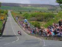 Curva Hillberry, Tourist Trophy, Isla de Man