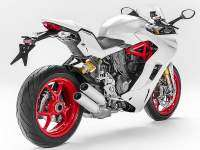 Trasera de la Ducati Supersport S 2017