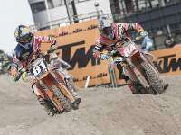 Jorge Prado y Jeffrey Herlings.