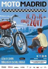 Cartel MotoMadrid 2017