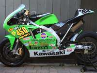 Kawasaki 450 Supersingle - izquierda