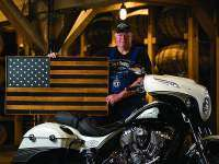 Indian Chieftain Jack Daniel's Limited Edition, bandera