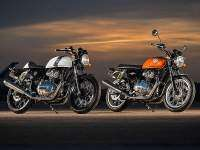 Royal Enfield Interceptor y Continental GT Twin.