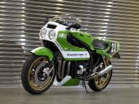 Vista frontal del kit Kawasaki Endurance de Doremi Collection