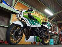 Estética 'old school' con el kit Kawasaki Endurance de Doremi Collection