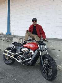 Indian Scout Dimitri Coste