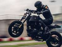 Harley-Davidson Forty Eight Raging Dagger - acción