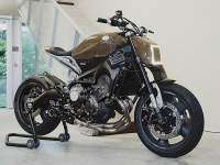 Yamaha XSR900 'Alter' by Dab Motors - lateral