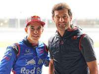 Macr Márquez y Mark Webber en el Red Bull Ring