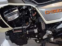Honda CX500 Turbo de 1982 - motor