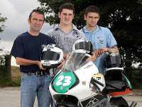 Robert, Michael y William Dunlop