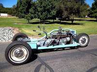 Trike Ford Falcon - lateral