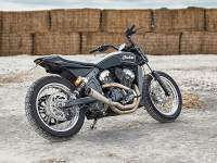 Indian Scout Flat Track - Trasera