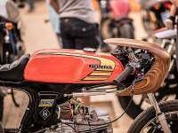 Honda SS50 en el Oldies But Goldies 2017