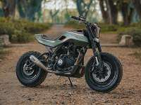 Royal Enfield Project SG411 - lateral