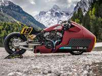 """Indian Scout Bobber """"Appaloosa"""" - lateral"""