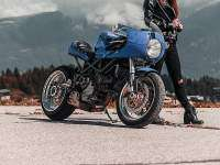 Ducati Monster 1000CR - frontal