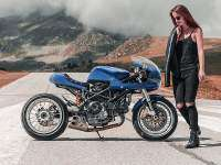 Ducati Monster 1000CR - derecha
