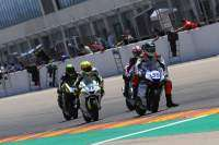 Cuatro pilotos lucharon por la victoria en Supersport