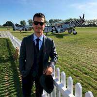 Dani Pedrosa en el evento del Goodwood Revival