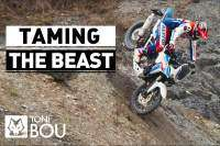 Toni Bou trial extremo Honda Africa Twin