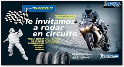 Michelin Slick, Power Race, Pilot Power 2CT, Pilot Power y Pilot Road 2