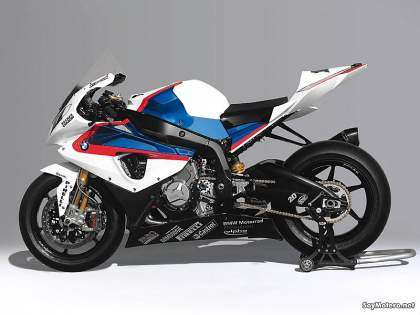 BMW S 1000 RR SBK - Vista lateral