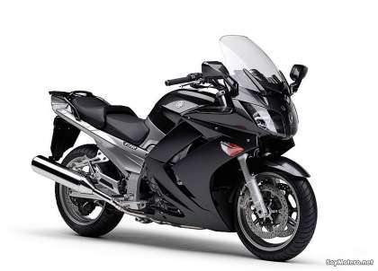 Yamaha FJR1300A, color gris grafito