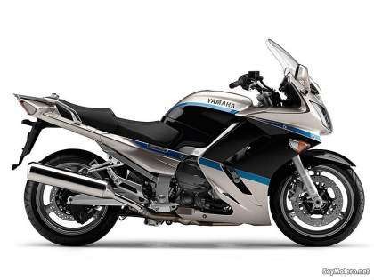 Yamaha FJR1300AS Sunset Silver