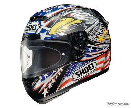 casco Shoei X-Spirit - decoración GLORY TC-2