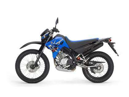 Yamaha XT125R - Racing Blue