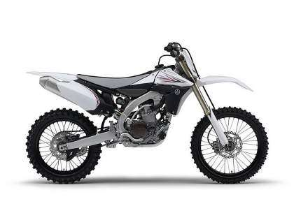 Yamaha YZ450F 2010 - Color Sports White vista lateral